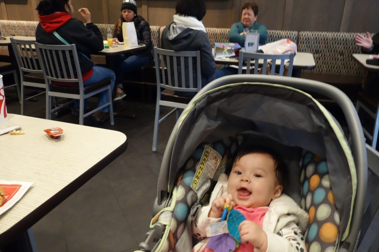 Grandma Oma's favorite American fast food joint.