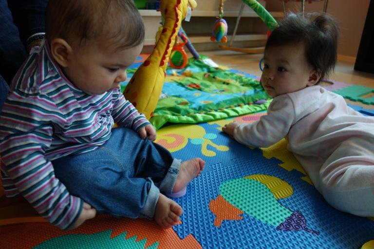 Noor meets Isabel.