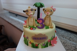 Isa's requested cake.